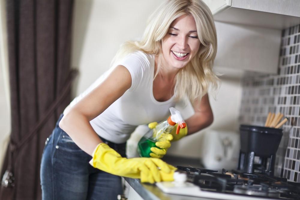 10 Советов, Как очистить плиту от жира