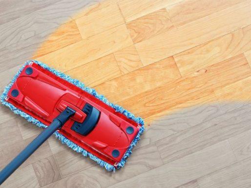 Лучшие идеи, чем отмыть пол от строительной пыли