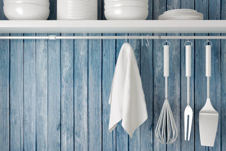 Как эффективно отбелить кухонные полотенца — Средства для домашних условий