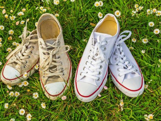 Как отчистить кроссовки — Белая, кожаная, замшевая и тканевая обувь