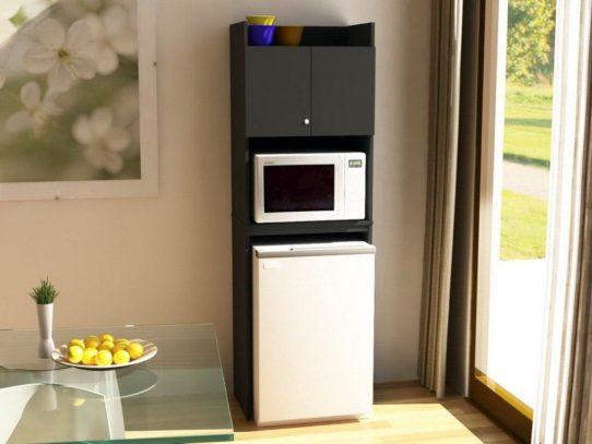 Авторитетное мнение — Можно ли ставить микроволновку сверху на холодильник