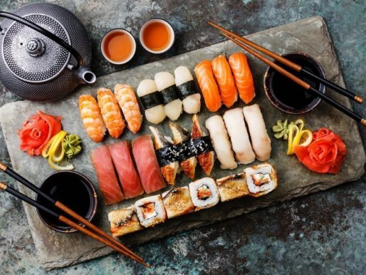 Суши из морепродуктов - Вкусно и полезно