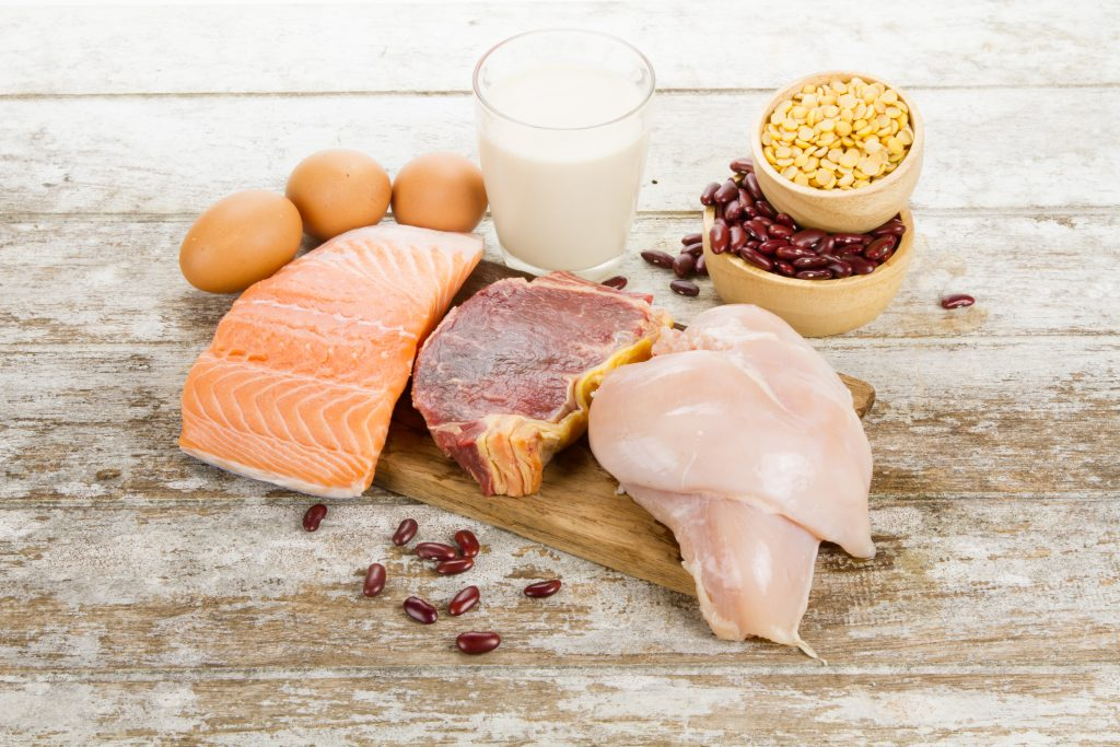 В каких продуктах много белка — Животного и растительного происхождения