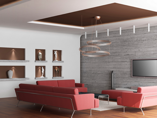 Дизайнерские потолки: все возможные разновидности