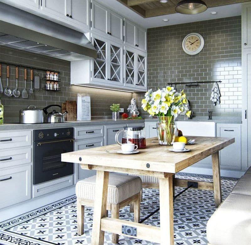 Потрясающая кухня в стиле прованс — 35+ Идей Дизайна Интерьеров