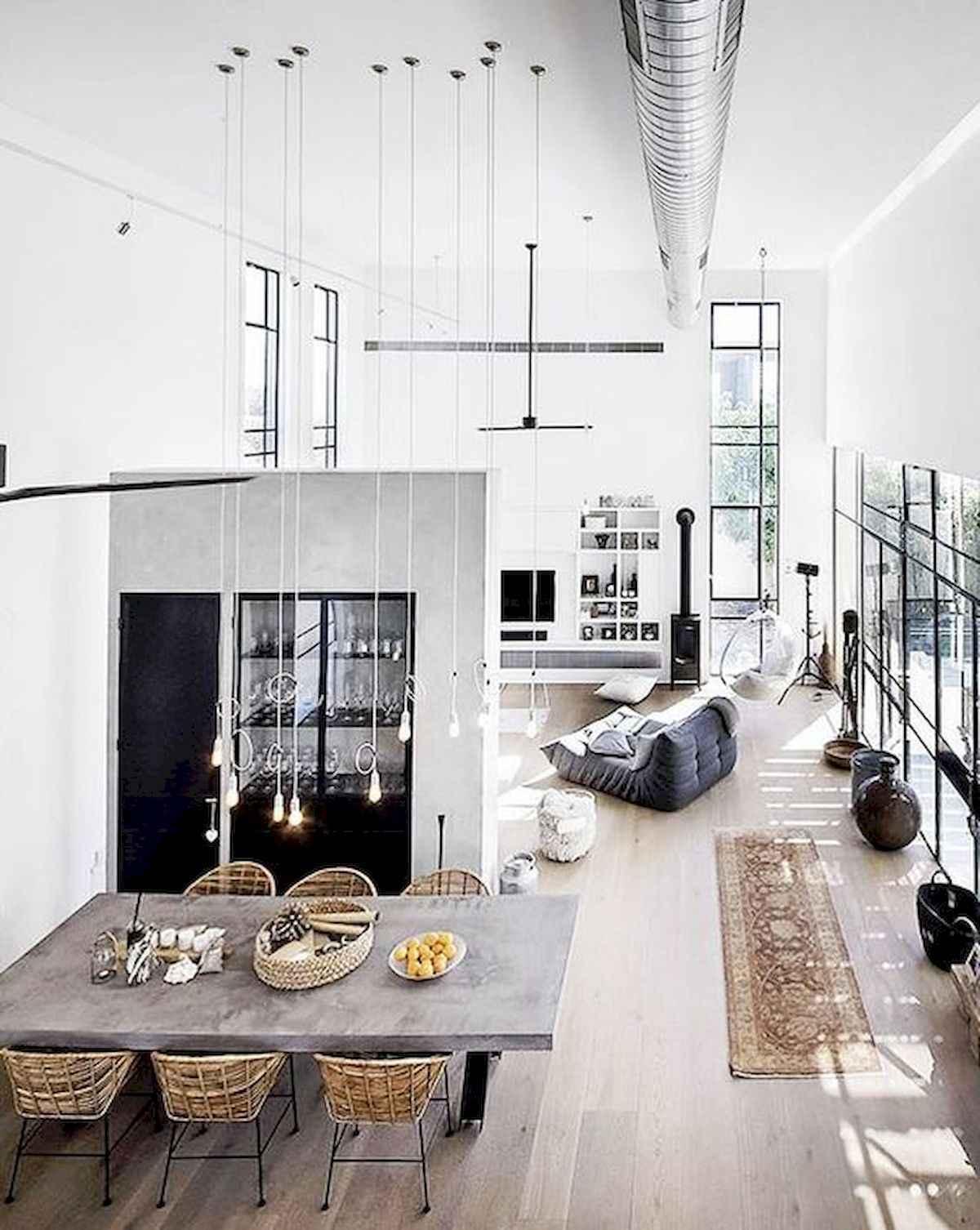 stil loft v interere
