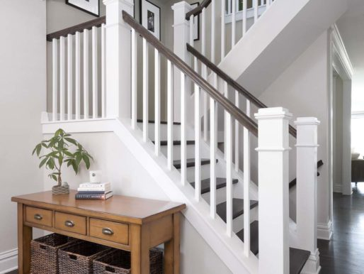 30+ Идей: Перила для лестницы в частном доме — Красота и надежность