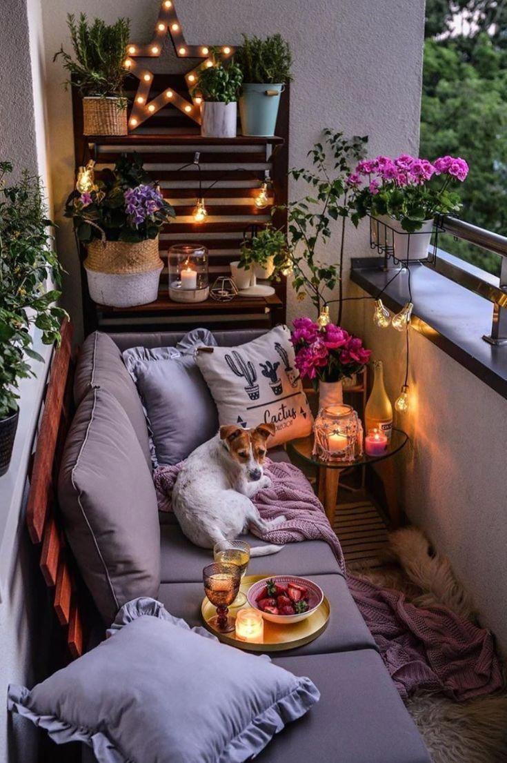 Современный дизайн балкона