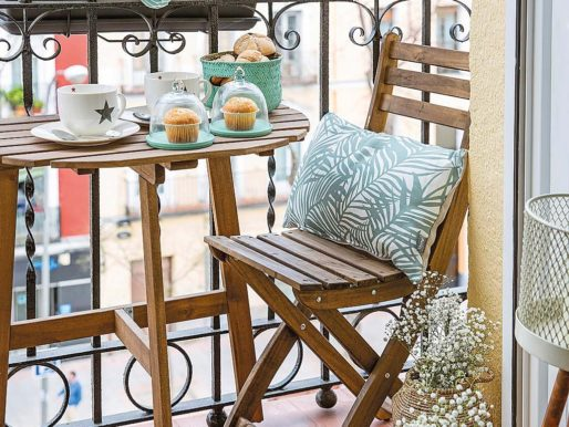40+ Идей: Вдохновляющий Дизайн Балкона — Дополнительное место отдыха в квартире
