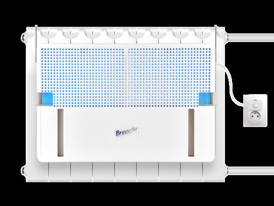 Обзор увлажнителя воздуха на батарею Natura Fun l